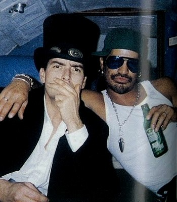 Slash and charlie sheen