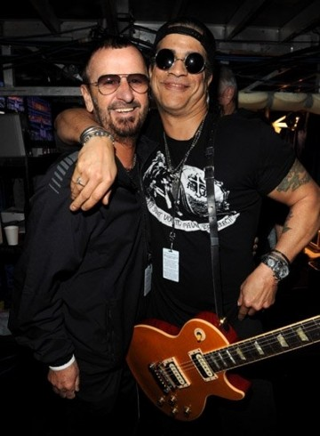slash and ringo star