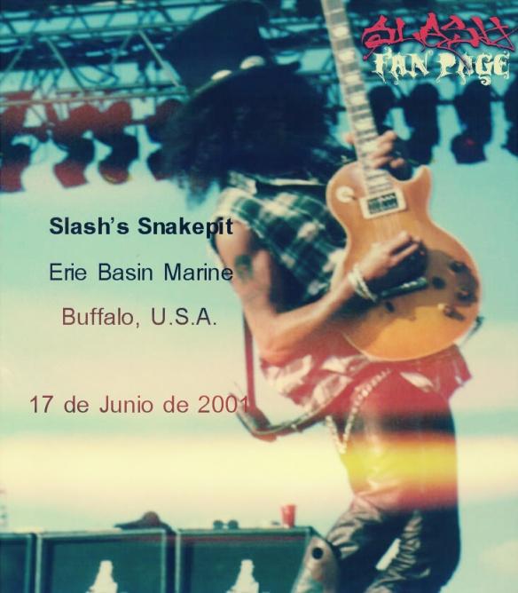Slash's Snakepit - Buffalo, USA - 2001