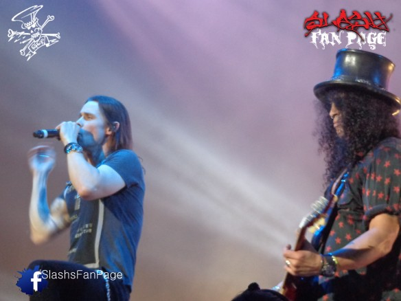 Myles y Slash