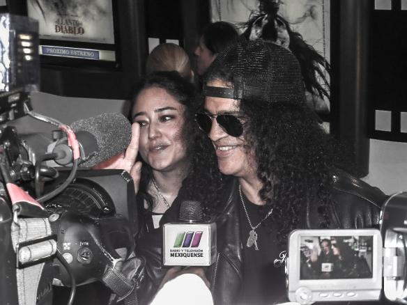 Slash en entrevista