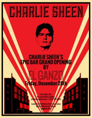 Poster Charlie Sheen