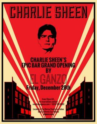 Poster Charlie Sheen