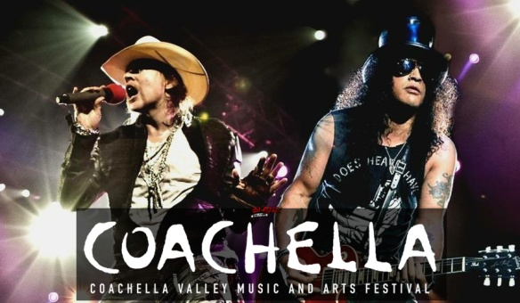 Axl and Slash @ Coachella