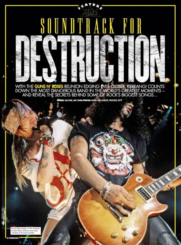 Soundtrack for Destruction