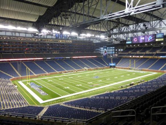 1.- Ford field