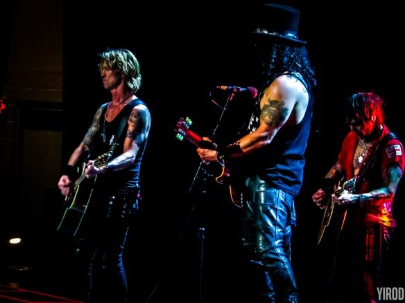 Duff, Slash y Richard