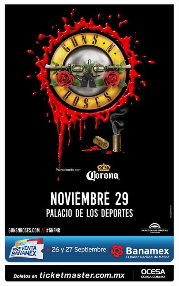 Gn'R en México...nuevamente