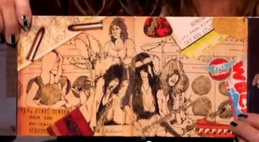 Dibujo de Aerosmith by Slash