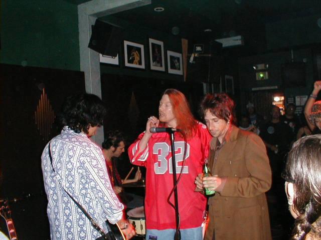 Axl Rose y Gilby 2000