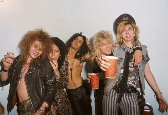 Guns N' Roses - Junio 1985